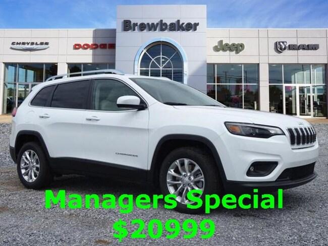 2019 Jeep Cherokee LATITUDE FWD Sport Utility For Sale Prattville AL