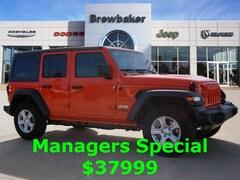 2018 Jeep Wrangler UNLIMITED SPORT S 4X4 Sport Utility For Sale Prattville AL