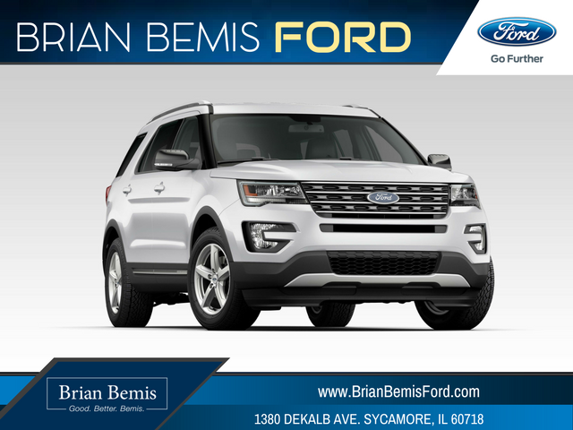 Brian Bemis Ford >> 2017 Ford Explorer- Purchase for 0% APR for 60 | Sycamore Ford