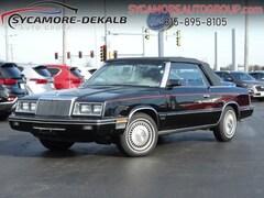 1984 Chrysler Lebaron 2DR CONVERTIBLE TOWN& COU