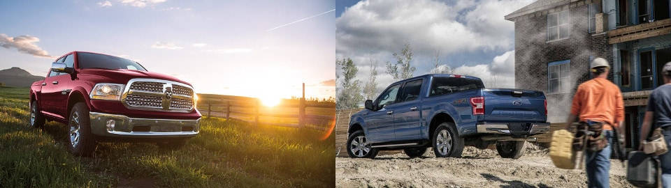 2018 ford 1500. contemporary ford 2018 ram 1500 vs ford f150 exterior in ford