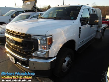2020 Ford F-350 Flatbed Tow Body XL CrewCab 4x4 DRW Pickup Truck