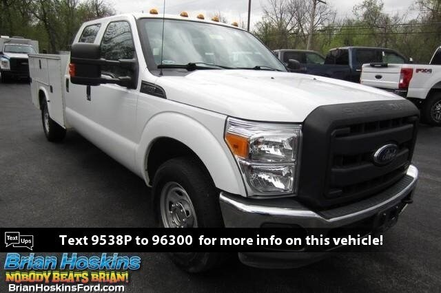 2016 Ford F-350 Utility Service Body XL CrewCab 4x2 Pickup Truck