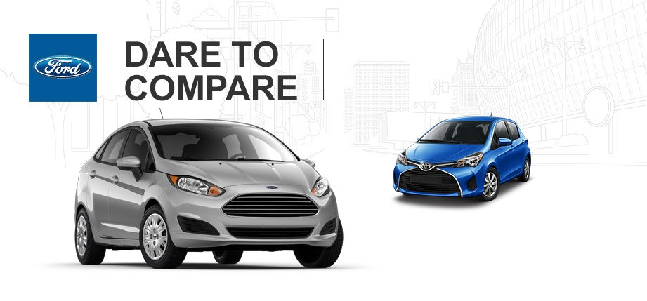 2015 Ford Fiesta Vs Toyota Yaris Brian Toliver Ford Of