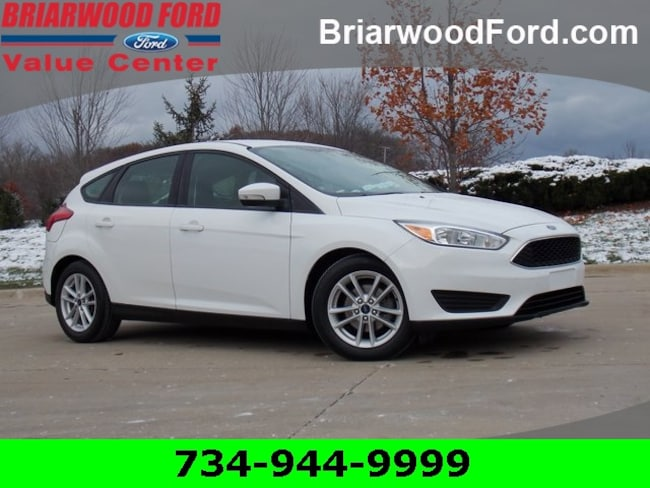 Used 2017 Ford Focus SE Hatchback For Sale in Saline, MI