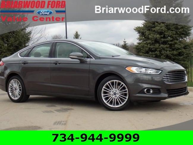 Used 2016 Ford Fusion SE Sedan For Sale in Saline, MI