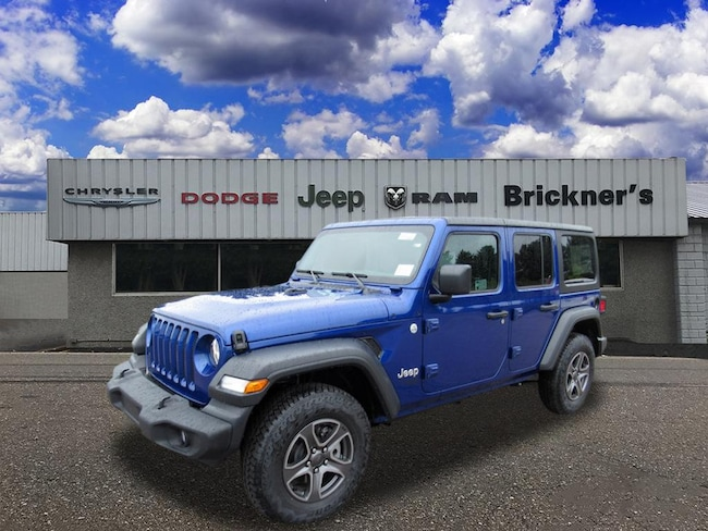 New 2018 Jeep Wrangler UNLIMITED SPORT S 4X4 Sport Utility near Wausau, WI