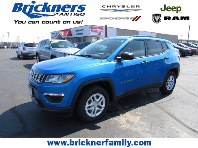 Used 2017 Jeep Compass Sport Fwd For Sale Antigo Wi