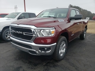 New 2020 Ram 1500 BIG HORN QUAD CAB 4X4 6'4 BOX Quad Cab 1C6SRFBT0LN319132 for sale in Antigo, WI