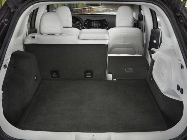 2019 Jeep Cherokee Rear Storage