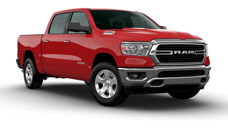 2021 Ram 1500 Big Horn - Flame Red