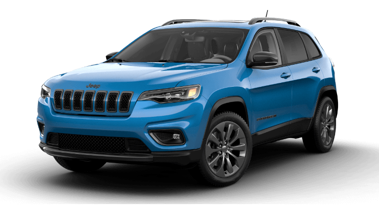 2021 Jeep Cherokee 80th Anniversary Hydro Blue