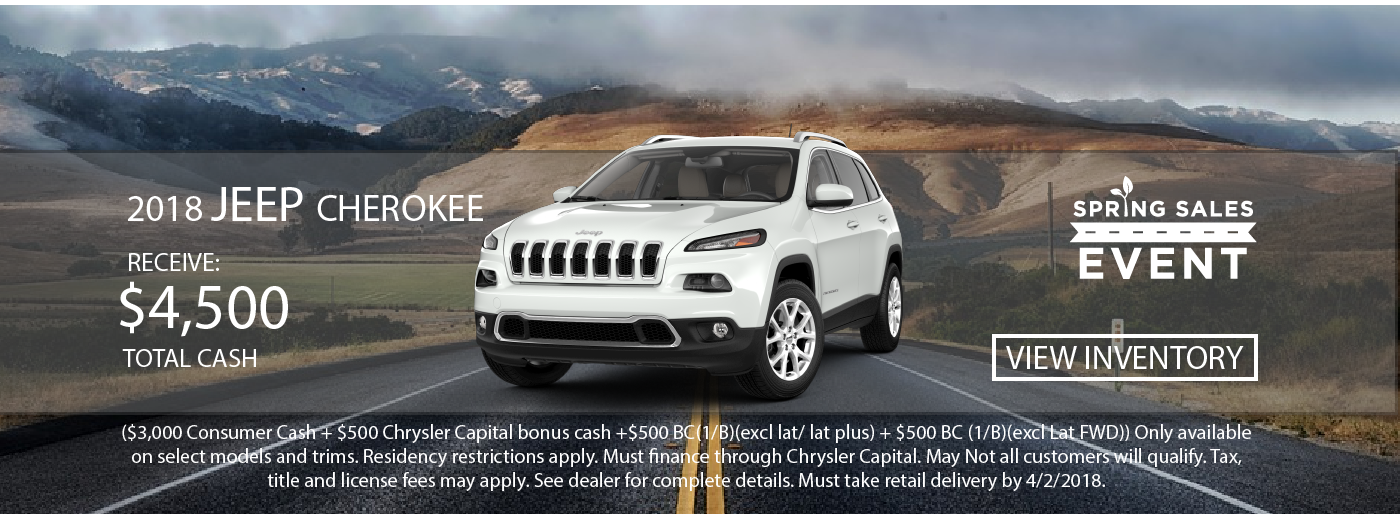 New Used Jeep RAM Dodge Chrysler Dealership In Merrill - Chrysler capital bonus cash