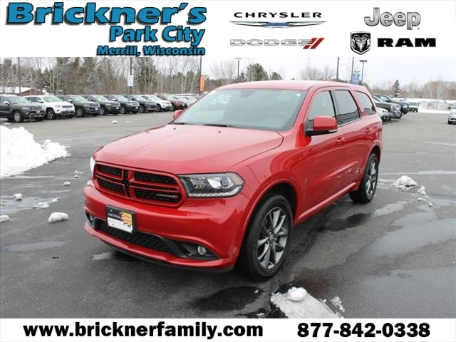 Used 2018 Dodge Durango Gt For Sale Merrill Wi