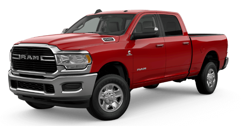 2020 Ram 2500 Big Horn - Flame Red