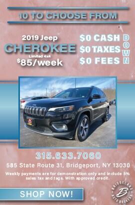 2019 Cherokee Offer