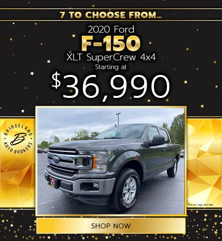 2020 Ford F-150 XLT SuperCrew 4x4 Offer
