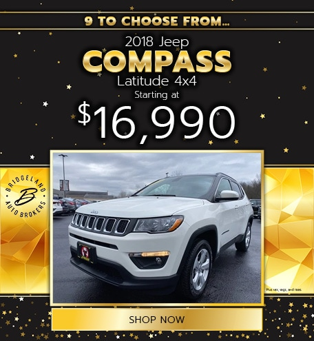 2018 Jeep Compass Latitude 4x4 Offer