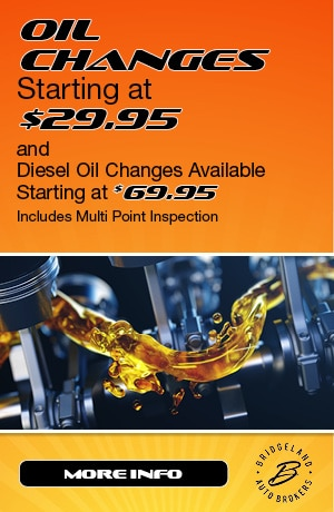 Oil Changes Starting at $29.95