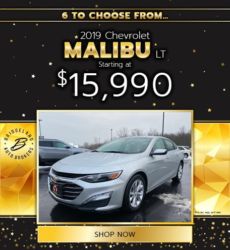 2019 Chevrolet Malibu LT Offer