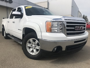 2012 GMC Sierra 1500 SLT**Leather | Remote start | One owner** Crew Cab Pickup