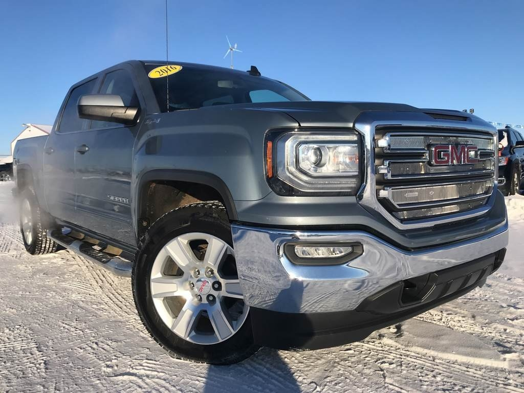 2016 GMC Sierra 1500 SLE**VERY CLEAN ONE OWNER TRUCK** Crew Cab Pickup
