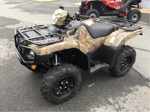 2019 HONDA TRX500 RUBICON DCT IRS EPS CAMO SAVE $500 + $500 ACCESSORIES