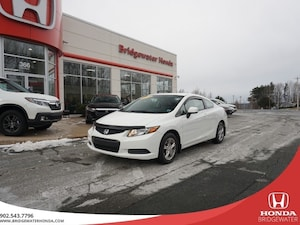 2012 Honda Civic LX - SINGLE OWNER -  DEALER MAINTAINED