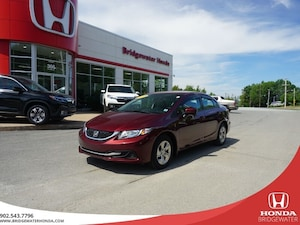 2015 Honda Civic LX - Clean Carproof - Dealer maintained