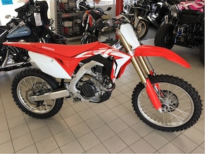 2018 HONDA CRF450R - BARELY USED