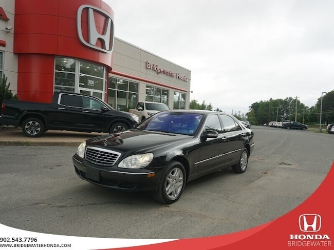 2003 Mercedes-Benz S-Class 5.0L Rare Only One For Sale In Canada Sedan