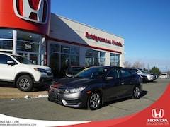 2018 Honda Civic LX - LOWEST KILOMETERS - UNBEATABLE PRICE - SINGLE Sedan