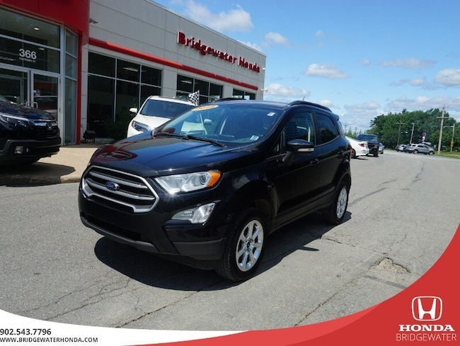 2018 Ford EcoSport SE - AWD - Staff Owned & Dealer Maintained AWD SUV