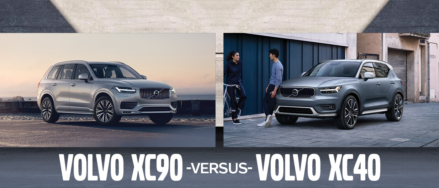 New Volvo Xc90 vs. XC40