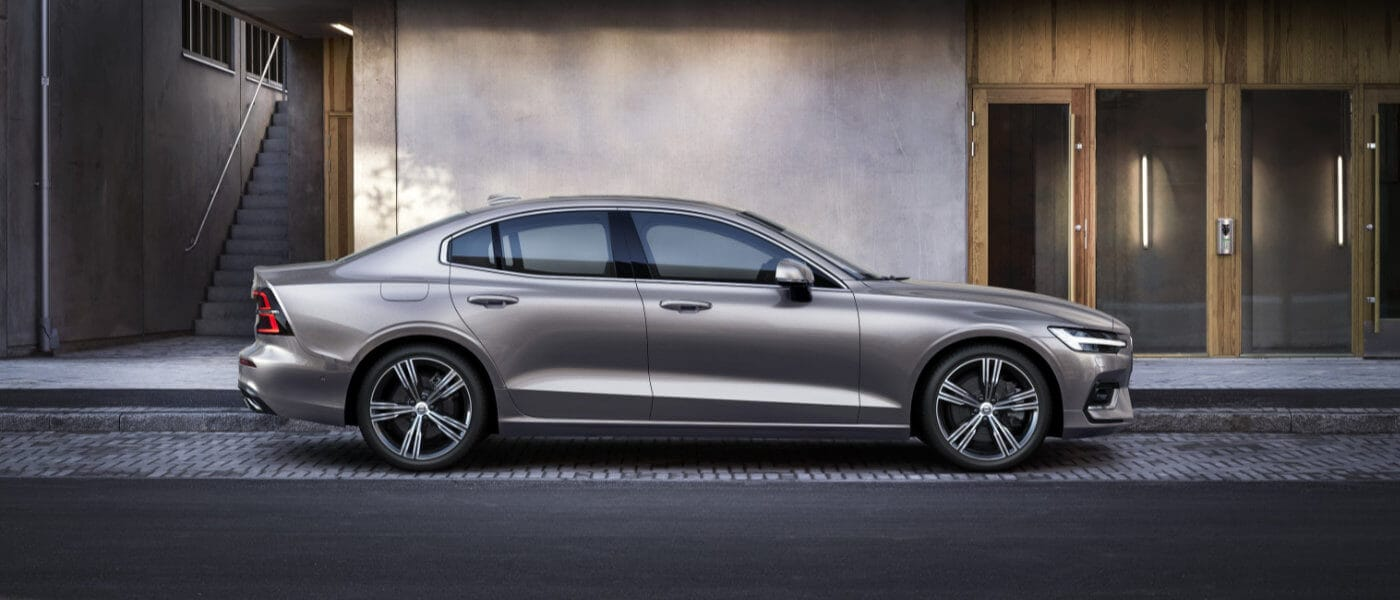 2021 Volvo S60 parked on a street