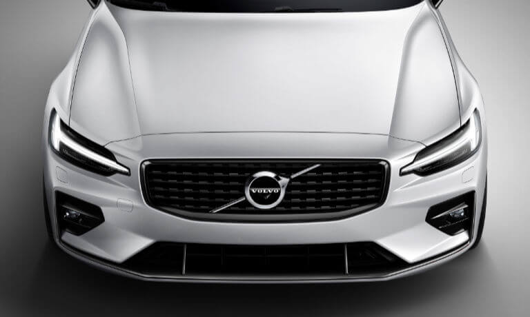 New VOlvo V60 front grille view
