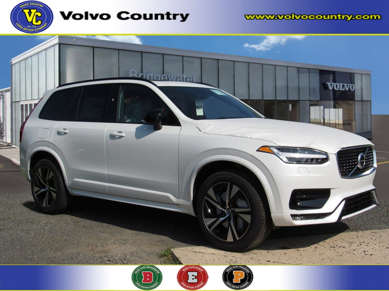Volvo Xc90 R Design >> New 2020 Volvo Xc90 T6 R Design 7 Passenger For Sale Lease In Somerville Nj Vin Yv4a22pm8l1531235