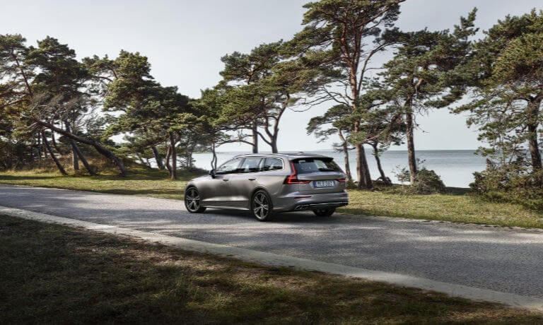 New Volvo V60 driving