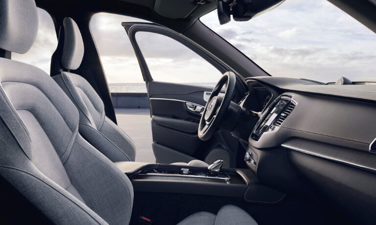 2021 Volvo XC90 interior driver side view