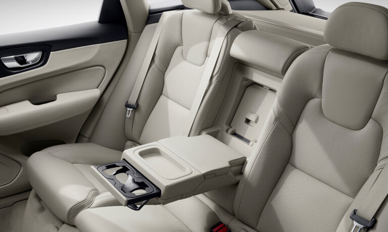 2021 Volvo XC60 interior backseat view