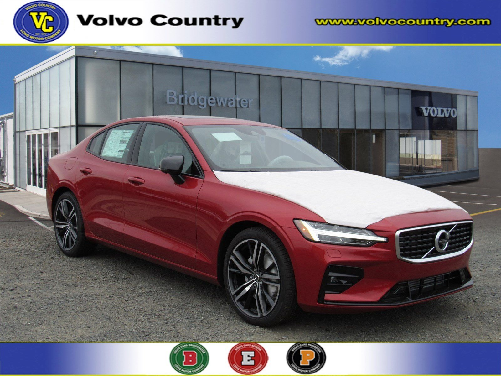 New 2019 Volvo S60 T5 R-Design For Sale/Lease in Somerville NJ VIN#  7JR102FM6KG004852