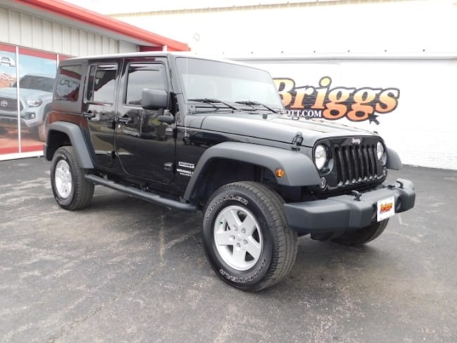 2015 Jeep Wrangler Unlimited 4WD  Sport SUV