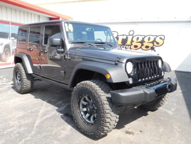 2014 Jeep Wrangler Unlimited 4WD  Willys Wheeler SUV