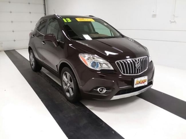 Used 2013 Buick Encore FWD 4DR Leather SUV in Topeka KS