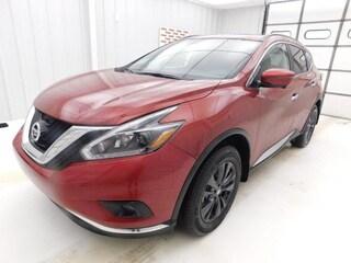 New 2018 Nissan Murano SV SUV for sale in Manhattan, KS at Briggs Manhattan
