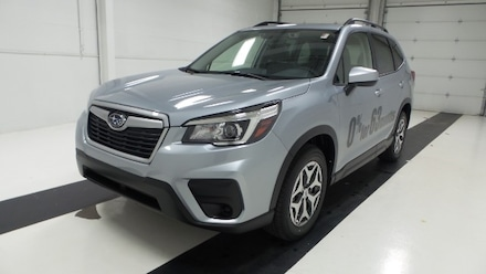 Featured new 2020 Subaru Forester Premium SUV for sale in Topeka, KS