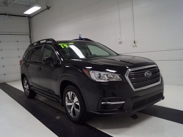 Featured used 2019 Subaru Ascent 2.4T Premium 7-Passenger SUV for sale in Topeka, KS