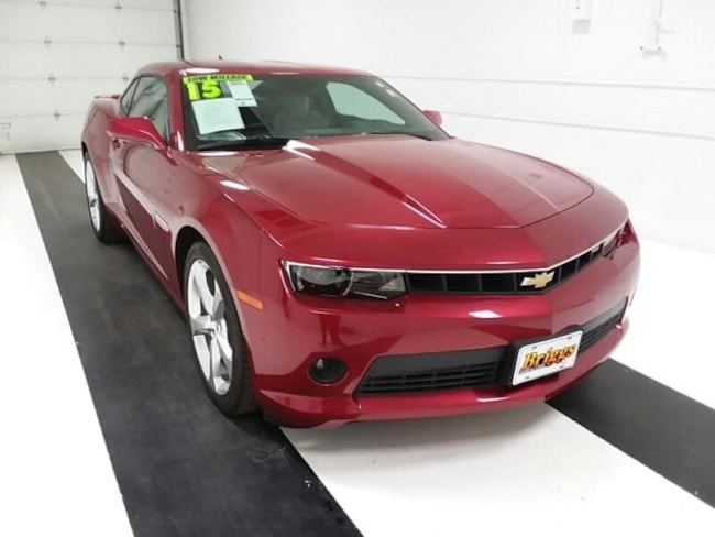 Used 2015 Chevrolet Camaro 2DR CPE LT W/2LT Coupe in Topeka KS