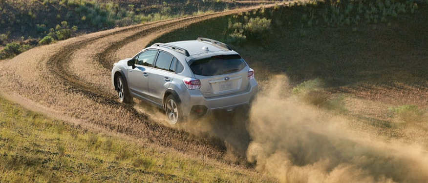 Subaru Crosstrek Dirt Road