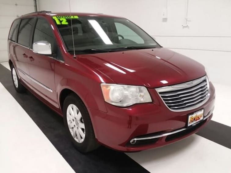 Used 2012 Chrysler Town & Country 4DR WGN Touring-L Van for sale in Topeka, KS at Briggs Subaru of Topeka
